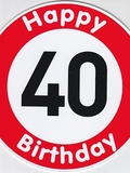 Happy Birthday 40 Jahre