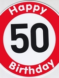 Happy Birthday 50 Jahre