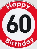 Happy Birthday 60 Jahre